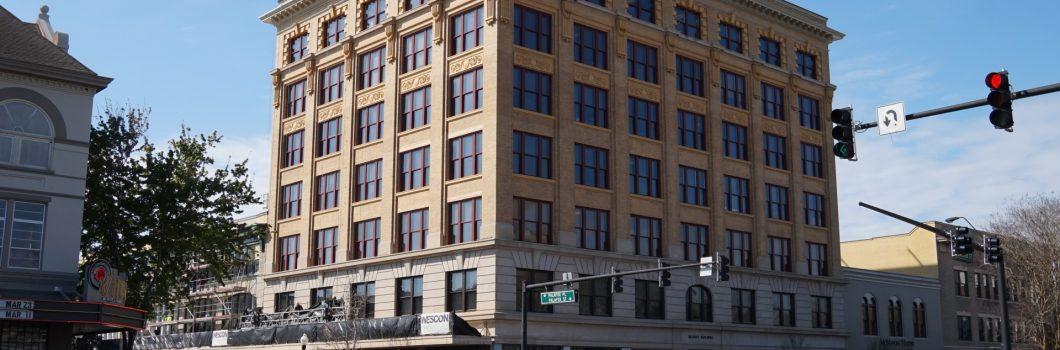 Blount Building Exterior Renovation & Restoration