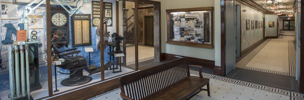 Blount Building History Hall